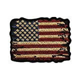 Distressed American Flag Vintage Look Patch...
