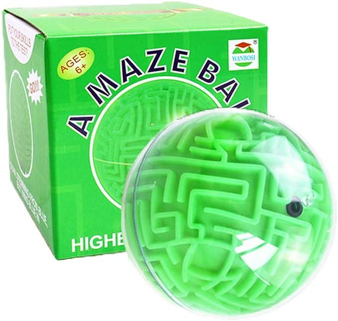 SimpleLife 3D Maze Magique Cube Labyrinthe Roulant Jouet Jouets /Éducatifs Jouets Porte-cl/és Enfants Jouets Cadeau Couleur Al/éatoire