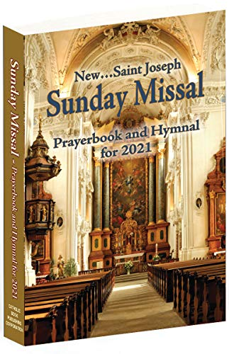 St. Joseph Sunday Missal and Hymnal for 2021 (American)