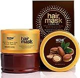 Glamorous Hub WOW Skin Science Mascarilla capilar de aceite de argán marroquí con aminoácidos de soja y trigo para cabello normal 200 ml (el embalaje puede variar)