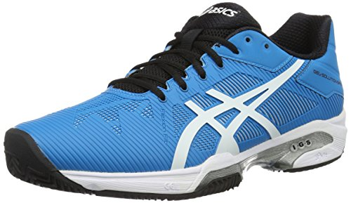 Asics Gel-Solution Speed 3 Clay, Zapatillas de Tenis para Hombre, Azul (Blue Jewel/white/black), UK-6