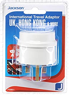 Jackson Outbound Travel Adaptor - UK and HK, (PTA8811)