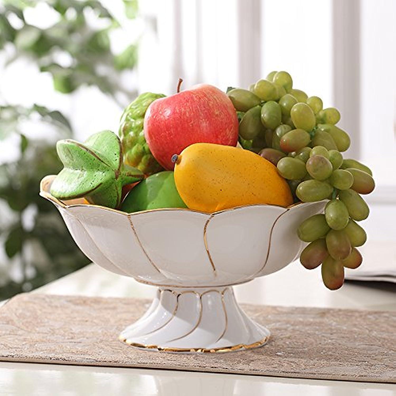 Fruits en Céramique Européenne AmeubleHommest De Maison De Mouchoirs Blancs Titulaire De Décoration Cendrier Cure - Dents,Compote