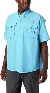Men's PFG Bahama II Short Sleeve Shirt, Riptide, X-Small