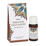 Aceite Esencial de Palo Santo Selecciòn - 10 ml - 100% puro, natural y artesanal - para vaporizadores - de calidad chamánica - aroma bienestar y atrae la buena suerte.