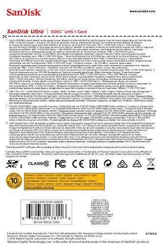SANDISK『SDSDUNR-128G-GN6IN』