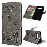 Beaulife Étui portefeuille en cuir PU pour Samsung Galaxy S10 Plus avec béquille magnétique et...