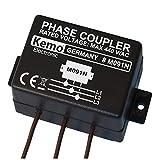 Kemo M091N Phasenkoppler für Powerline Produkte. Verbindet alle 3 hausinternen Netzphasen kapazitiv miteinander, so dass über das Stromnetz Übertragungsraten bis zu 650 Mbit möglich sind