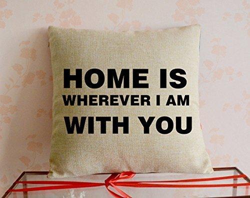 Nieve Treehome es donde mamá IS18X 18/16x 16estándar suave algodón funda de almohada dos lados impresos alta calidad para regalo de la madre día