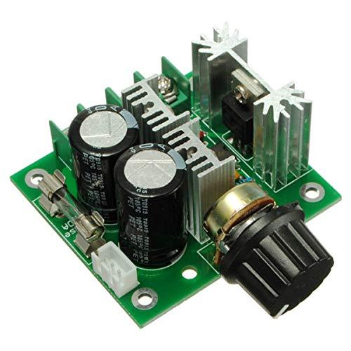 KEMEILIAN Ampliamente Utilizado 5PCS 12V-40V 10A Modulación PWM DC Controlador de Velocidad Controlador de Velocidad Gobernador Durable