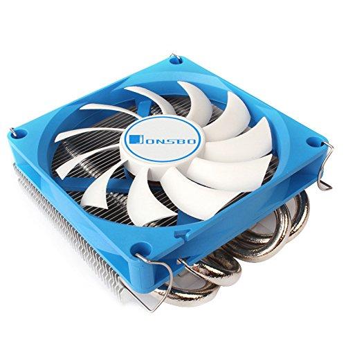 Jonsbo - HP-400 90mm Cpu Kühler RGB PC Fan für Intel und AMD CPUs Kühlung Effiziente Prozessoren, Hohes Kühlpotential und stylisches Design