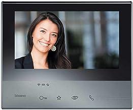 Legrand, Classe 300 X13E video-binnenplaats in zwart met 7 inch touchscreen, 4 gevoelige toetsen en smartphone-verbinding,...