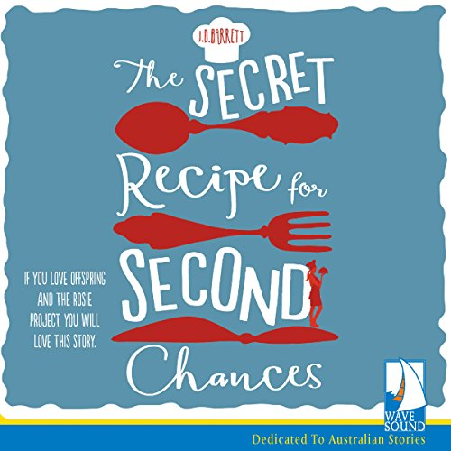 The Secret Recipe for Second Chances audiobook cover art
