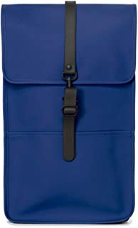 Luxury Fashion   Rains Mens BACKPACKKLE Blue Backpack   Fall Winter 19