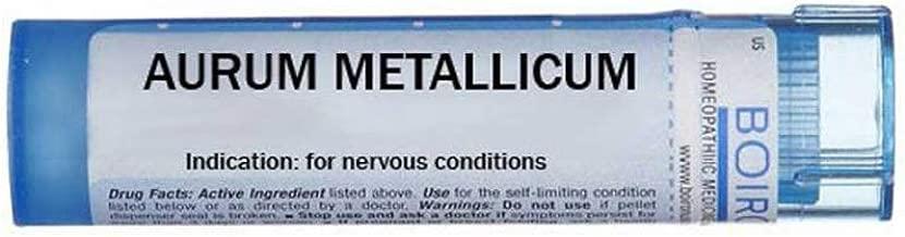 Boiron Aurum Metallicum 15c, Blue, 80 Count