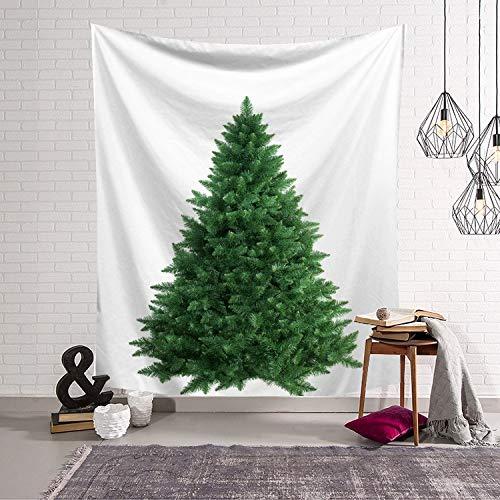 WERT Tapiz de árbol de Navidad Arte de la Pared decoración del hogar de Navidad Tela de Fondo atmósfera de Vacaciones Tapiz de Tela Colgante A5 73x95cm