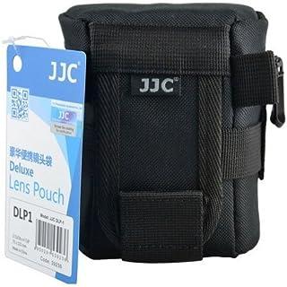 JJC DLP-1 Deluxe Lens Pouch F Sony Canon Nikon 50mm 60mm 18-55mm 40mm 10-100mm Olympus 14-42mm 40-150mm