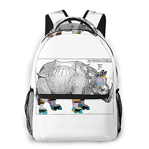 Mother Flippin' Rhymnoceros, Flight of the Conchords Laptop Casual backpack for School