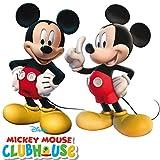 2Figurines * * Mickey Mouse pour anniversaire d'enfant ou Devise Party//enfants anniversaire Souris Devise Disney
