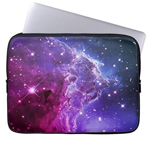 qidushop Hipster Purple Ombre Monkey Head Nebula 13 13.3 Inch Computer Case for Laptop Waterproof Neoprene Laptop Sleeve for 13 MacBook Air