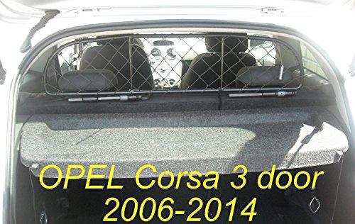 ERGOTECH Trennnetz Trenngitter Hundenetz Hundegitter für OPEL Corsa 3 Türen BJ 2006-2014