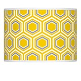 Honeycomb Giclee Glow Lamp Shade 13.5x13.5x10 (Spider) - Giclee Glow