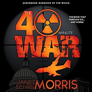 The Forty-Minute War audiobook cover art