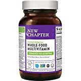 New Chapter Perfect Prenatal Vitamins,192ct, Organic Prenatal Vitamins, Non-GMO Ingredients for Healthy Baby & Mom - Folate (Methylfolate), Iron, Vitamin D3, Fermented with Whole Foods and Probiotics