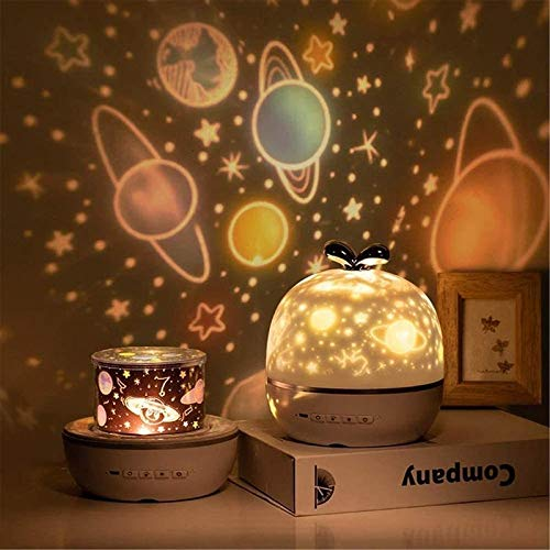 Starry Sky USB Luz De Noche Planeta Proyector Magic LED Lámpara LED Colorido Gire Flashing Star Niños Zhenzhiyangshangmao