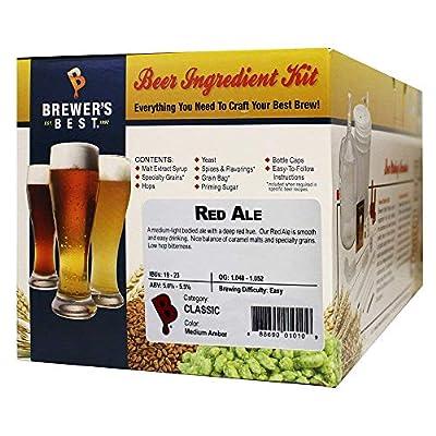 Brewer's Best Red Ale Homebrew Beer Ingredient Kit