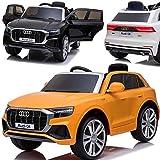BPD Elektroauto für Kinder elektrisches Kinderauto Audi Q8 SUV lizensiert mit 12V Akku 2 Motoren...