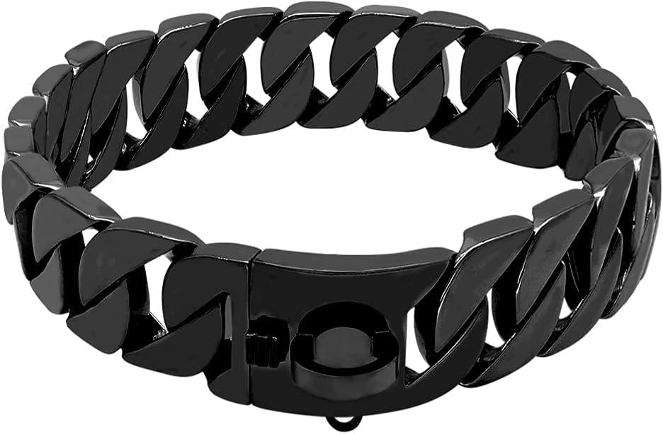 LHKMGH Durable Reservation Max 81% OFF Dog Chain Collar Slip Str Choke Super Pet