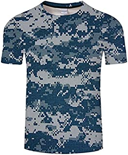 HPXCAZ Newest 3D Printed T-Shirt Ink Draw Pattern Short Sleeve Summer Casual Tops Tees Fashion O-Neck Tshirt Male (Color : T10, Size : XXS)
