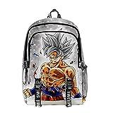 Mochila Dragon Ball, 3D Goku Anime Cosplay Mochila Infantiles Mochila Dragon Ball Escolar para Niño Niña Adulto Estudiante Bolso de Escuela Laptop Backpack Mochila para Viajes (31)