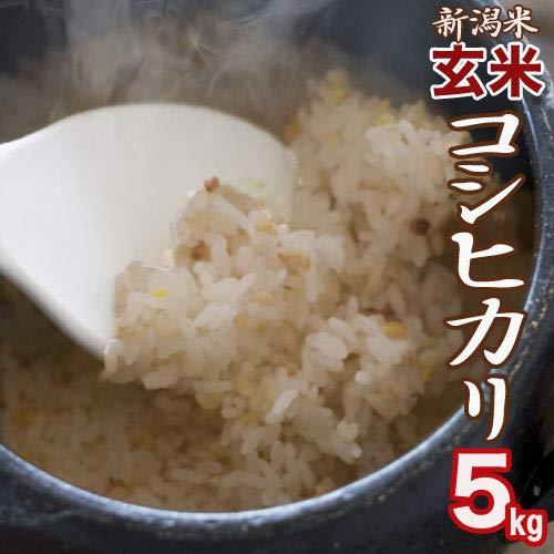 【玄米】新潟県産 コシヒカリ 5kg
