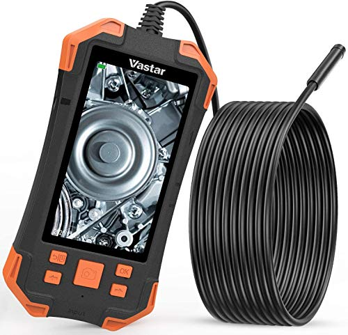 Vastar Endoscope, camera canalisation de Ecran LCD Couleur 4,3 Pouces IPS 1080P, 3000mAh Caméra...