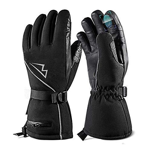 Lukasa Winterhandschuhe, Skihandschuhe Touchscreen Herren Damen Wasserdicht Warm rutschfest Handschuhe Laufhandschuhe für Radfahren, Wandern, Fahren
