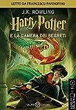 Harry Potter e la camera dei segreti letto da Francesco Pannofino. Audiolibro. CD Audio formato MP3 (Vol. 2) (Audiolibri)