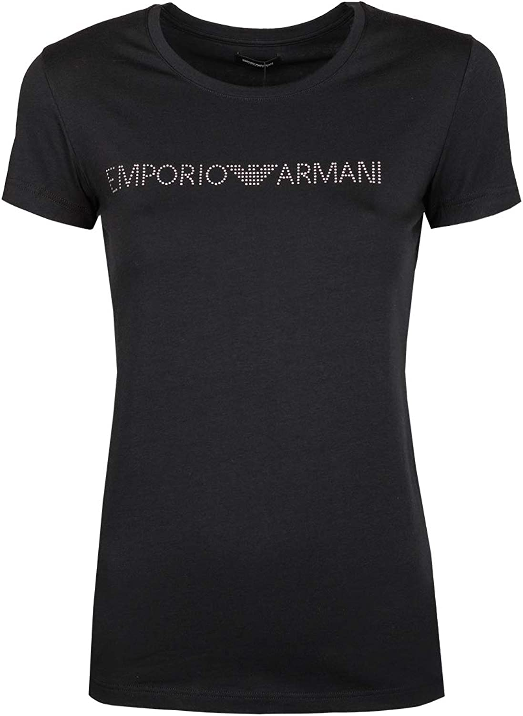 Emporio Armani TShirt Woman Short Sleeve Crew Neck Shirts Item 163139 8P263