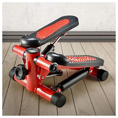 YF-SURINA Equipo deportivo para interiores Stepper, Fitness Pedal Fitness Ejercicio en casa Ejercicio Elíptico Twister Stepper - Acero de calidad mejorada, Entrenamiento fácil de pie, Pantalla digita