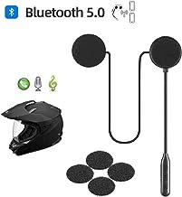 Motorcycle Helmet Bluetooth Headset,Bluetooth 5.0,Waterproof Motorcycle intercom..