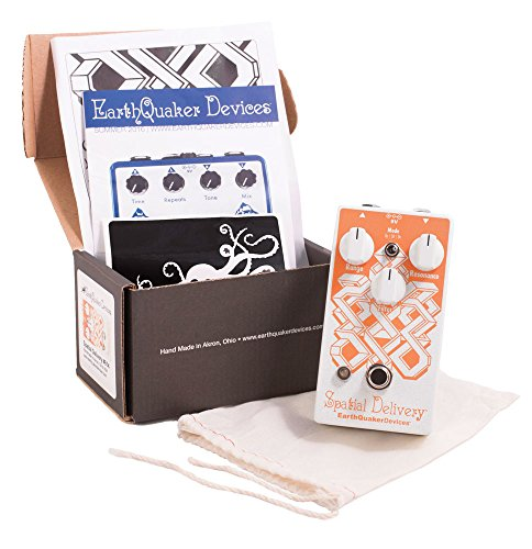 EarthQuaker Devices Spatial Delivery V2 Envelope Filter Guitar Effects Pedal with Sample & Hold