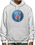 Photo de Homme Sweats à Capuche, Sweat-Shirt à Capuche, Paris Saint Germain Men's Long Sleeve Pullover Hoodie Sweatshirt Kangaroo Pocket Hoodie
