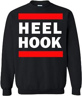 Superhero Gear Brazilian Jiu Jitsu Heel Hook BJJ Crewneck Pullover Sweatshirt 8 oz.