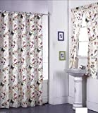 COLIBROX Butterfly Design Shower Curtain and Window Set w/ Liner+Rings NEW
