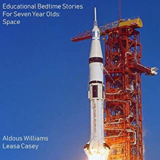 Educational Bedtime Stories for Seven Year Olds: Space Stories audiobook cover art