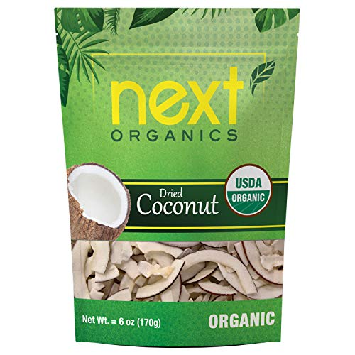 Next Organics Dried Coconut 6 oz Bag (Pack of 1)