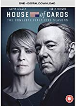 House of Cards (Complete Seasons 1-5) - 20-DVD Box Set ( House of Cards - Seasons One, Two & Three (39 Episodes) ) [ Origen UK, Ningun Idioma Espanol ]