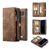 Galaxy Note 8 Case,AKHVRS Handmade Premium Cowhide Leather Wallet...