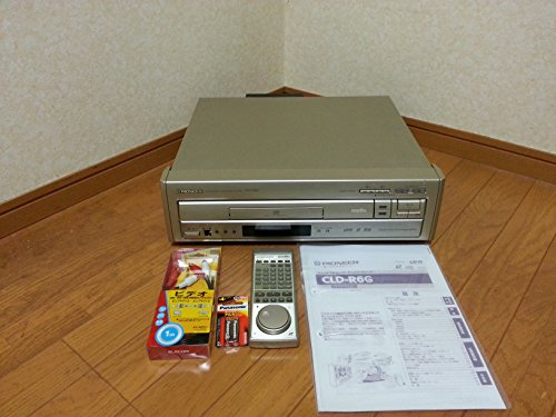 PIONEER 両面再生CD/LDプレイヤー CLD-R6G